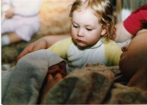 1986 - Home birth of my daughter Hailey